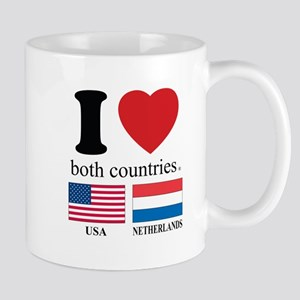 USA-NETHERLANDS Mug