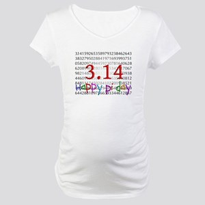 Pi Day Maternity T-Shirt