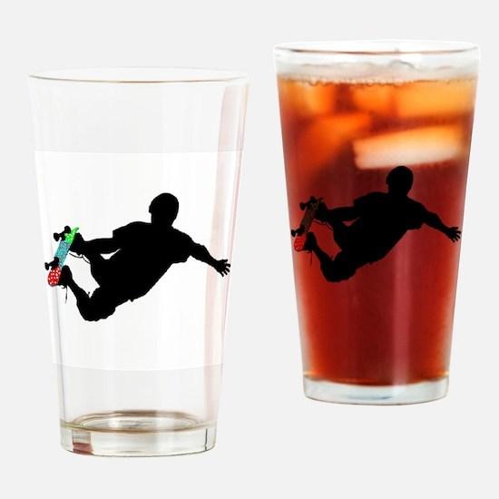 Unique Skateboard Drinking Glass