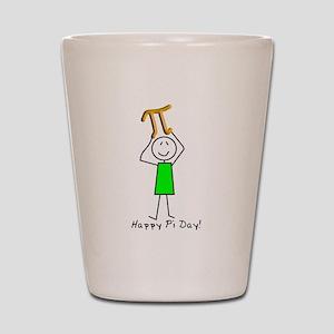 Pi Day Shot Glass