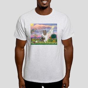 CloudAngel-Collie (B) Light T-Shirt