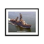 USS LAWRENCE Framed Panel Print