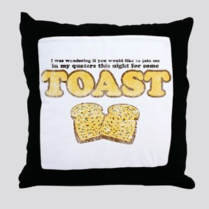 Toast (Vintage Look) Throw Pillow