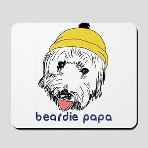 Beardie Papa Mousepad