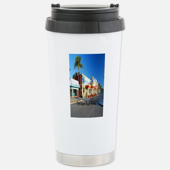Fort Myers Stainless Steel Travel Mug