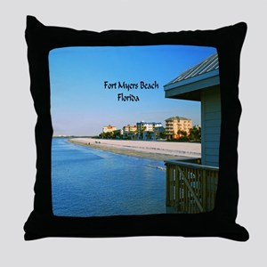 Fort Myers Throw Pillow