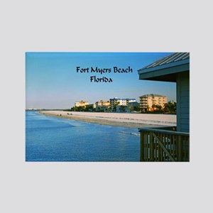 Fort Myers Rectangle Magnet