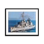 USS LEARY Framed Panel Print