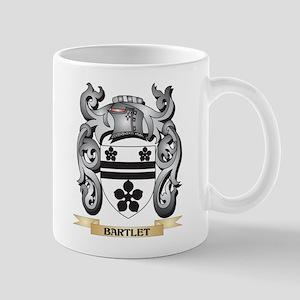Bartlet Family Crest - Bartlet Coat of Arms Mugs
