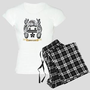 Bartlet Family Crest - Bartlet Coat of Arm Pajamas