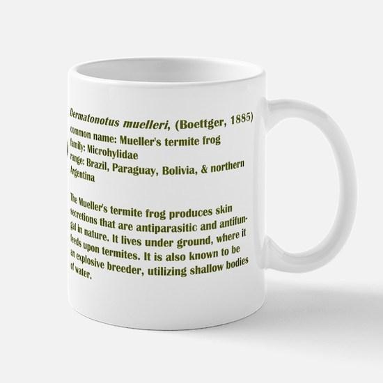 Mueller's Termite Frog Mug