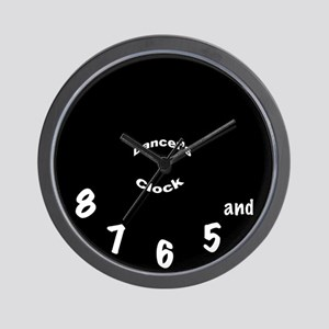 Dancer's Clock - Black