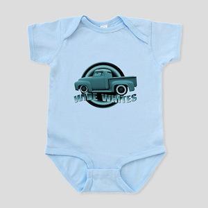 Baby Blue Hot Rod Pickup Infant Bodysuit