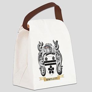 Bartlett Family Crest - Bartlett Canvas Lunch Bag