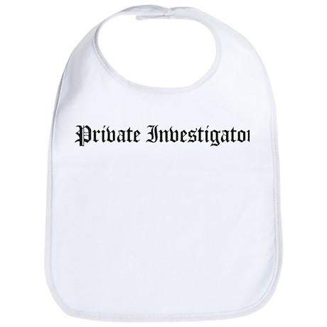 Private Investigator Bib