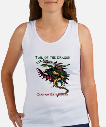 Tail Of The Dragon Women's Tank Top