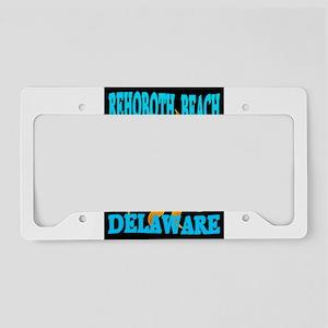 The Beach License Plate Holder