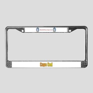 Marketplace CAPE COD License Plate Frame