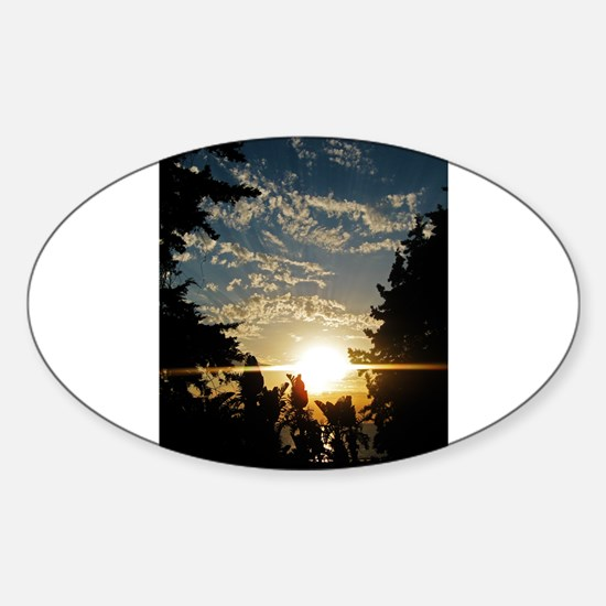 Unique Farewell Sticker (Oval)
