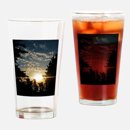 Unique Farewell Drinking Glass