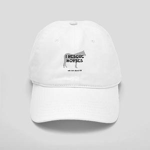 I RESCUE Horses Cap