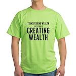 Creating Wealth Green T-Shirt