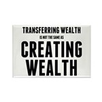 Creating Wealth Rectangle Magnet