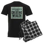 Creating Wealth Men's Dark Pajamas