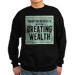 Creating Wealth Sweatshirt (dark)