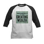 Creating Wealth Kids Baseball Jersey