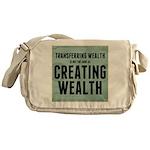 Creating Wealth Messenger Bag