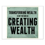 Creating Wealth Small Poster