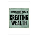 Creating Wealth Postcards (Package of 8)