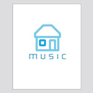 House Music Small Poster