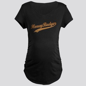 Team Honey Badger Maternity Dark T-Shirt