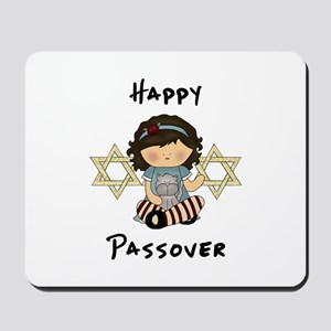 Happy Passover Girl Mousepad