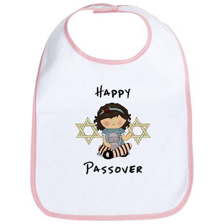 Happy Passover Girl Bib