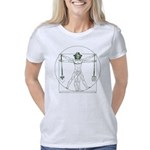 Garden Vitruvian Man Da Vi Women's Classic T-Shirt