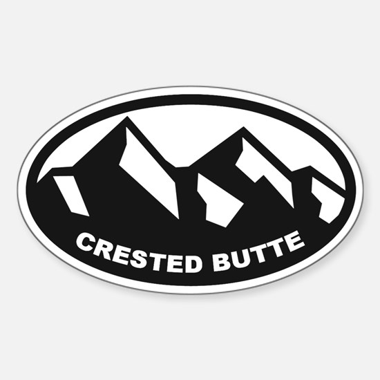 Crested Butte Sticker (Oval)