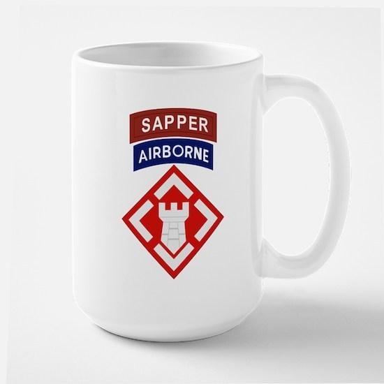 20th Engineer Sapper Large Mug