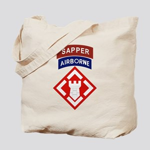 20th Engineer Sapper Tote Bag