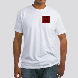 Men's Chef on the Farm Fitted T-Shirt