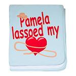 Pamela Lassoed My Heart baby blanket
