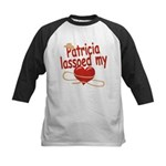 Patricia Lassoed My Heart Kids Baseball Jersey