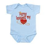 Patsy Lassoed My Heart Infant Bodysuit