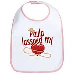 Paula Lassoed My Heart Bib