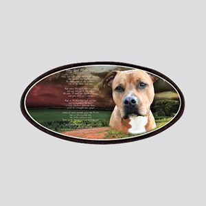 """""""Why God Made Dogs"""" AmStaff Patches"""