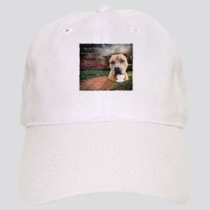 """Why God Made Dogs"" AmStaff Cap"