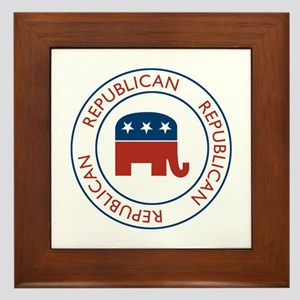 Republican Framed Tile