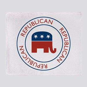 Republican Throw Blanket